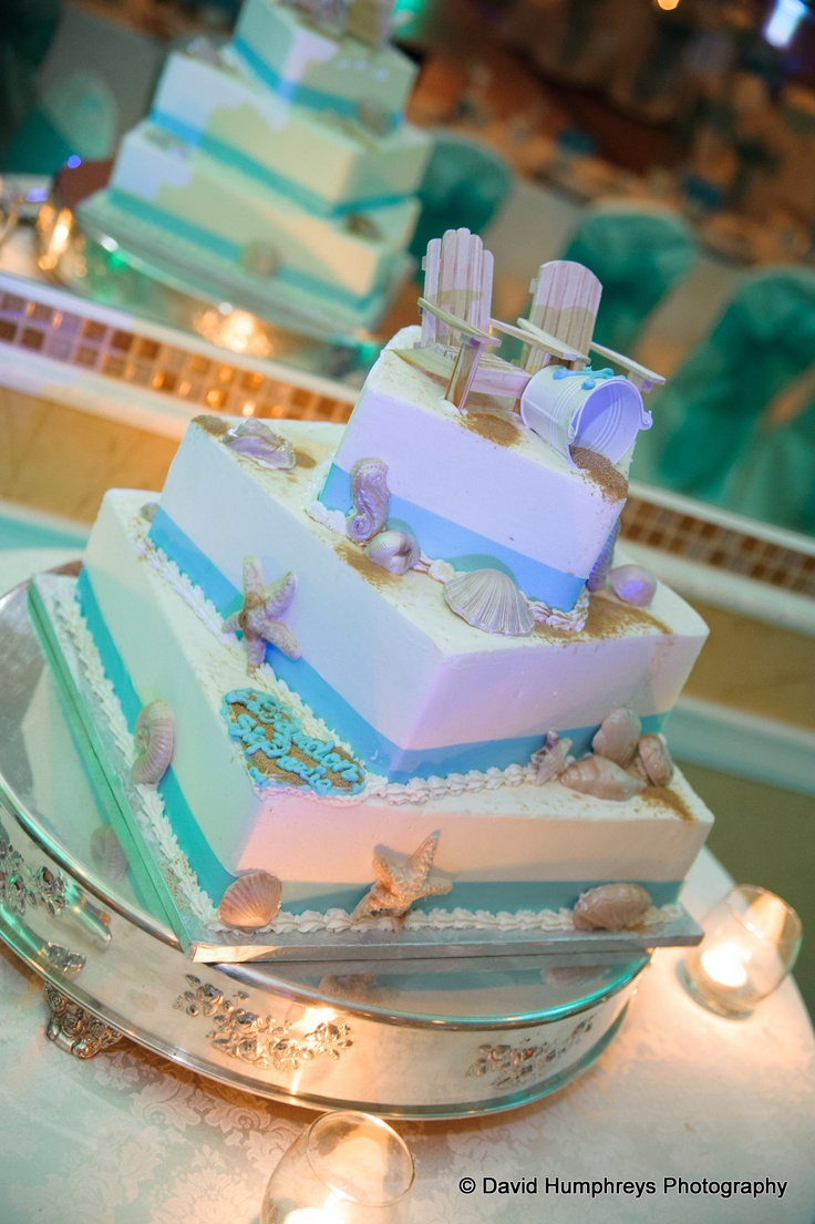 This Beach Themed Cake Is So Cool