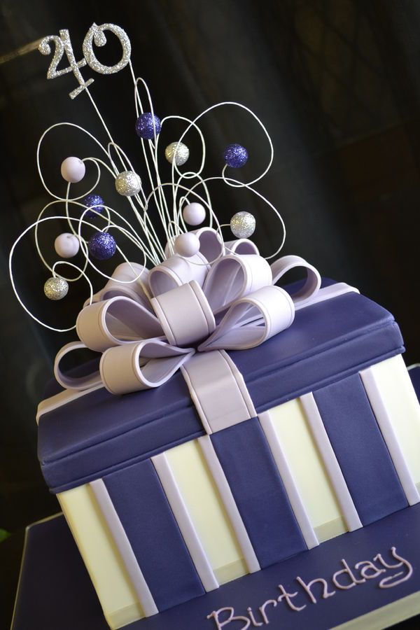Cake Box Decorating Ideas Classy Best 25 Gift Box Cakes Ideas On Pinterest  Fondant Christmas Design Decoration