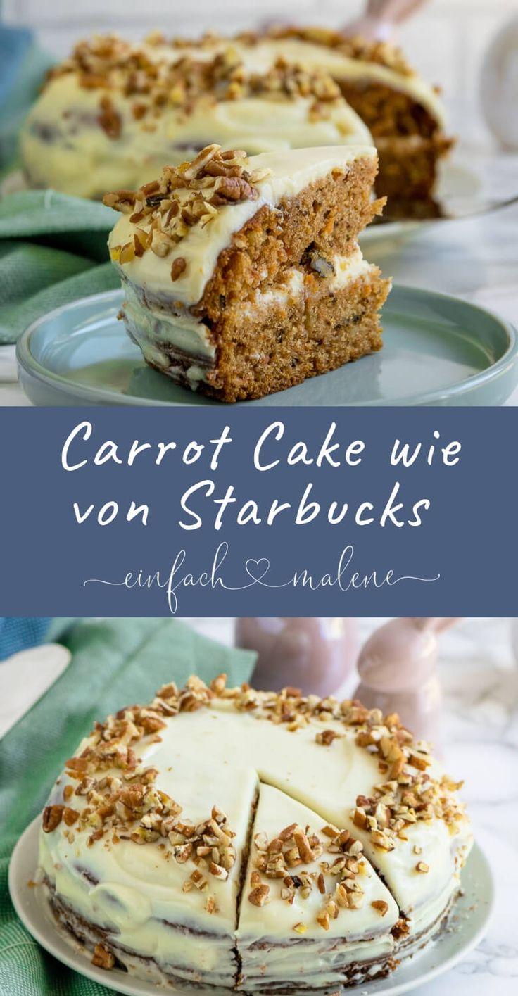 Ich liebe diesen Karottenkuchen über alles. Weil dieser mit Nüssen gefüllt ist und …   – *Einfach Malene – Blog Rezepte*