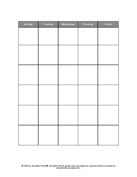 Best 25+ Daily calendar template ideas on Pinterest Day planner - attendance spreadsheet template
