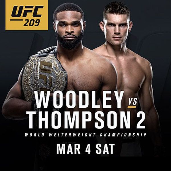 UFC 209 live streaming #UFC209 Woodley vs Thompson 2 Live Stream