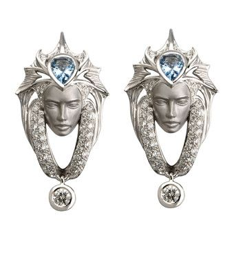 Magerit Escama Pave Collection Earrings AR1600.2