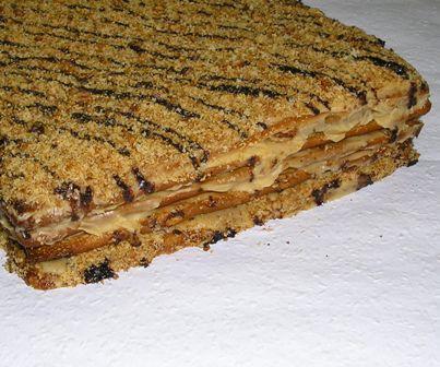 Marlenka Hozzávalók: A tésztához: 45 dkg liszt, 10 dkg puha vaj, 2-3 evőkanál…