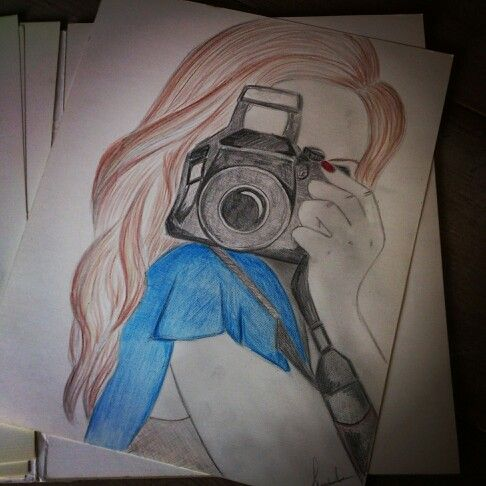 Inspired by Kristina Webb - love to draw like this!