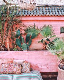 Lisa Smith | Riad Jardin Secret, Marrakech. | @couture