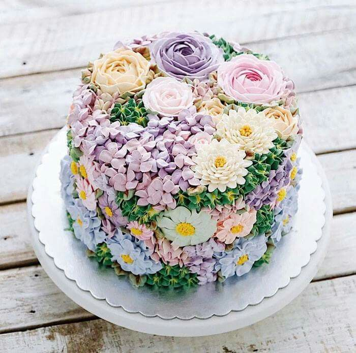 Blooming Flower Cakes To Celebrate The Return Of Spring 🍰🌸