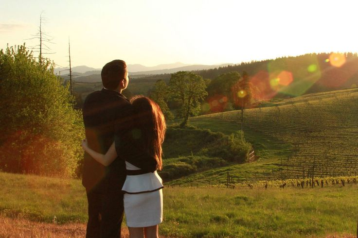Prom in Oregon = a night at a real vineyard