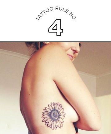 Tattoo rules for women: Stop judging and belittling other women for the art they decide to ink on their bodies.