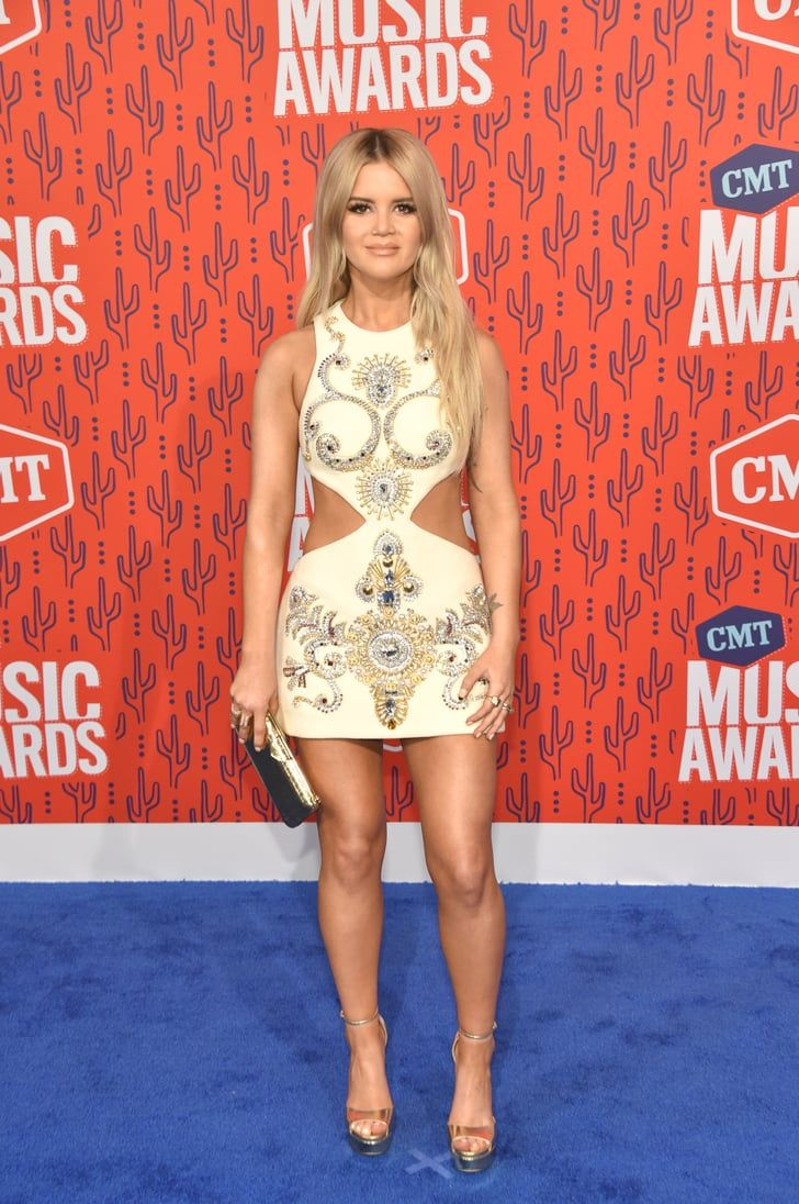 All The Sparkly And Fun Red Carpet Looks From This Year S Cmt Awards Red Carpet Looks Red Carpet Fashion Fashion