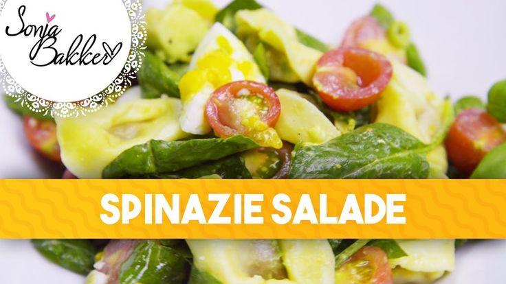 SPINAZIE SALADE   Sonja Bakker recept