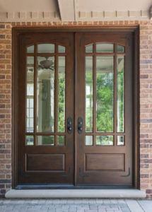 Double Door Window Design