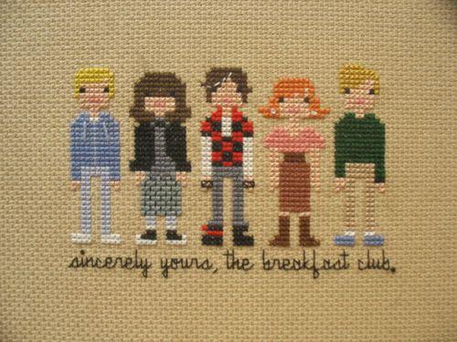 The Breakfast Club. Via Tumblr.: The Breakfast Club, Gifts Ideas, Club Crosses, Crossstitch, Movie, Xmas Gifts, Thebreakfastclub, Cross Stitches, Crosses Stitches Free