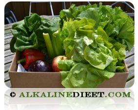 Alkalische Voedingsmiddelen recepten!!