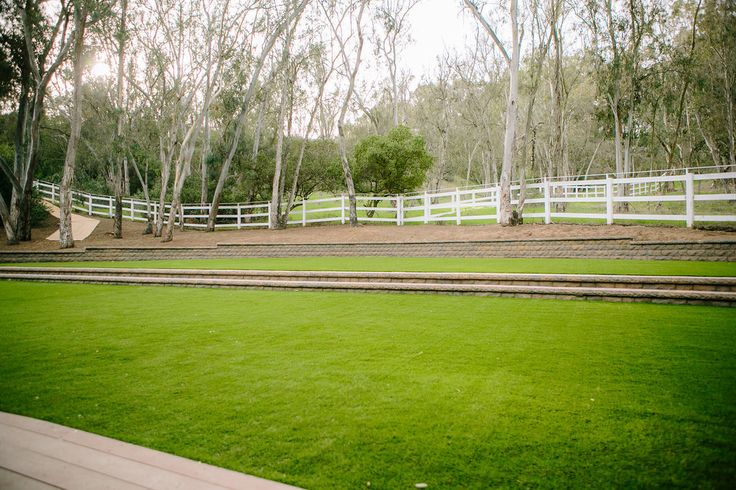 Newly Renovated Lawn space for a ceremony or reception at La Bella Vida Estate in San Diego, CA with overnight accomodations as well! Lovely space for dreamy Private Estate weddings | Estate Weddings and Events