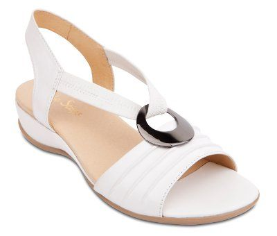 Wide Steps - Chase - White