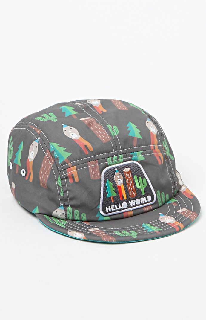 Hello World 5 Panel Hat                                                                                                                                                                                 More