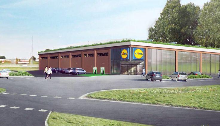 Lidl får möjlighet att bygga ny butik i Sandtorp.