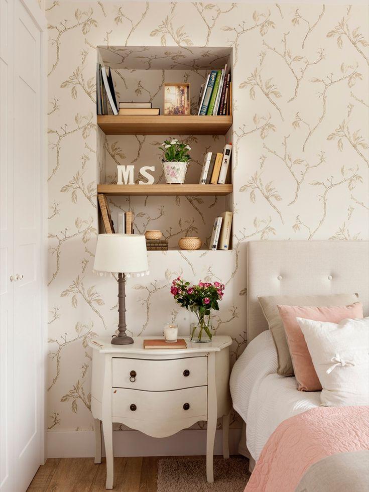 Las 25 mejores ideas sobre papel pintado dormitorio en - Papel pintado en muebles ...