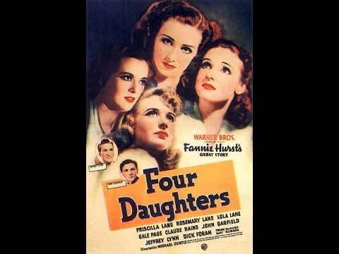 Priscilla Lane - Four Daughters - Lux Radio Theater - December 12, 1939 ...