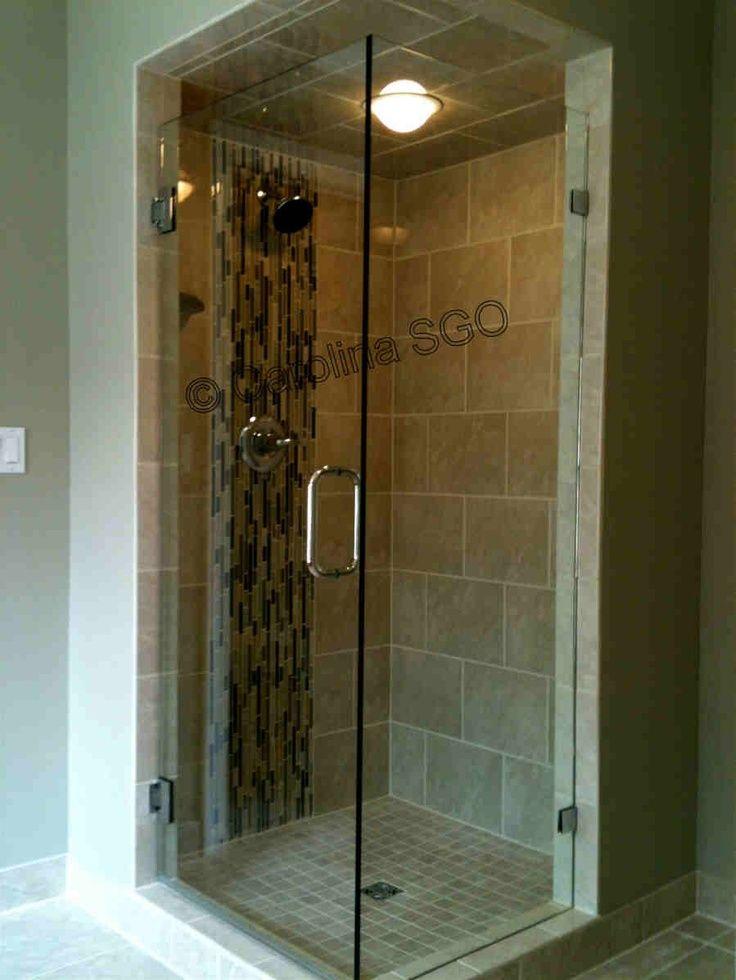 corner shower frameless corner shower