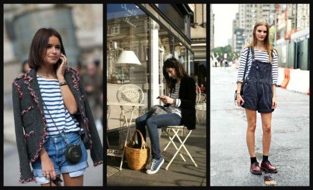 Французская уличная мода / фото 2017