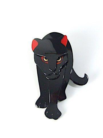 Stalking jaguar by Lea Stein