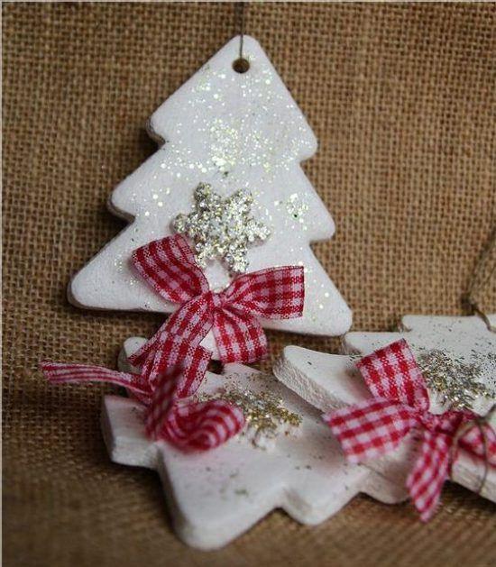 Adornos navideños con masa de sal - Dale Detalles