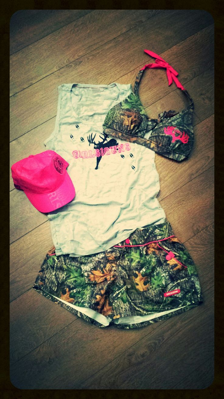 The perfect #GWG outfit for a weekend at the lake, on the river, or in the back yard! #MossyOak camo www.gwgclothing.com