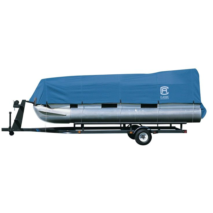 Classic Accessories 20-150-080501-00 Stellex Pontoon Boat Cover, Model A