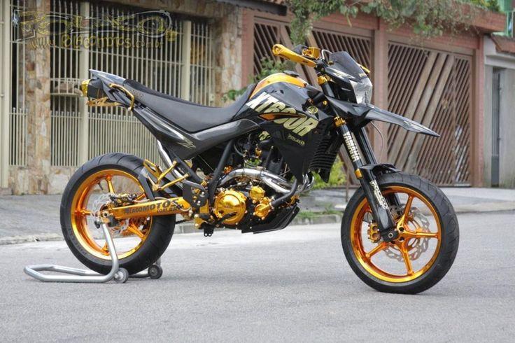 Yamaha XT660R Supermotard Gold Edition | Polaco Motos - desenvolvimento e Preparações