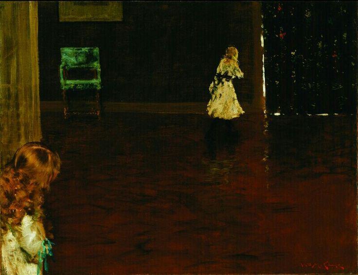 Willia Merritt Chase Hide and Seek, 1888