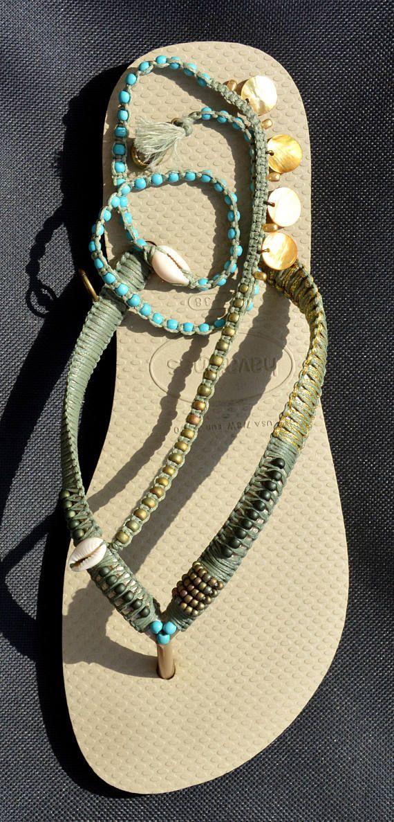 07bfcea31f0188 Sandals Hippie Sandals Boho Shoes Flip Flops Bohemian