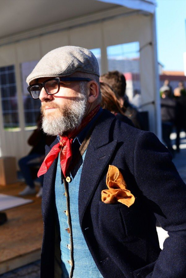 THE IMPECCABLY DRESSED BERTIE WOOSTER | pitti-moda: The 80 Best Street Style Looks from...