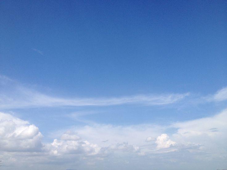 2014.8.17 好きな夏の空です。