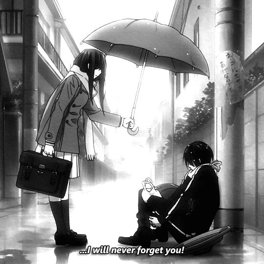 Anime, Manga, Never Forget You, Rain, Noragami, Yato, Iki