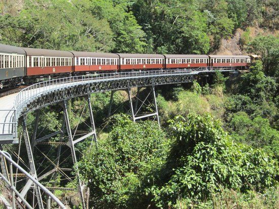 Book your tickets online for Kuranda Scenic Railway, Cairns: See 1,702 reviews, articles, and 854 photos of Kuranda Scenic Railway, ranked No.6 on TripAdvisor among 102 attractions in Cairns.