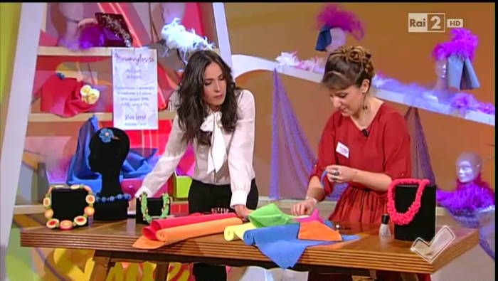 La plastica antiscivolo diventa gioiello con Miriam Bonifazi