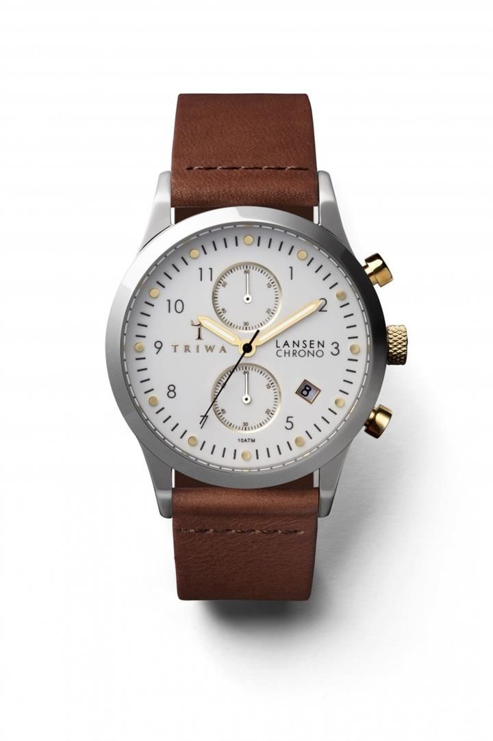 Image of TRIWA Ivory Lansen Chrono Accessories New Arrivals All Accessories Antoine and Stanley