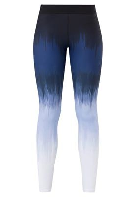 Tights - ombre blue