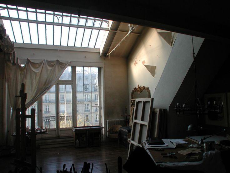 parisian artists loft  inspiration