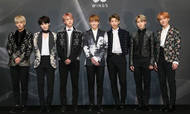BTS recebe um convite para o Billboard Music Awards