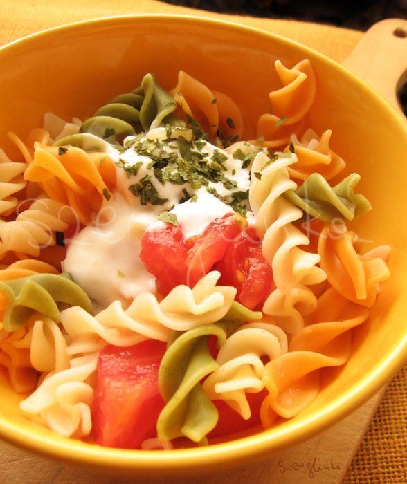 Tricolor pasta by szerglinka.deviantart.com on @deviantART #food #dinner #pasta #fresh