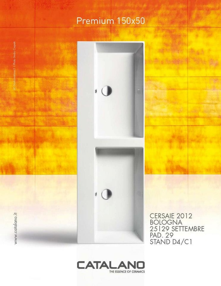 Advertising Catalano, Cersaie 2012, Bravacasa