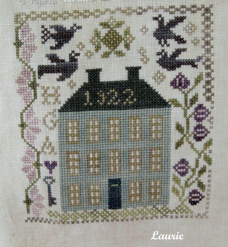 215 best cross stitch blackbird designs images on for Blackbird designs christmas garden