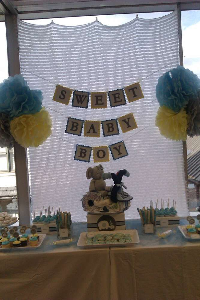 Desserts Shower Baby Shower Party Ideas | Photo 2 of 13 | Catch My Party