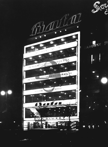 Baťa Service Centre, Prague, 1930