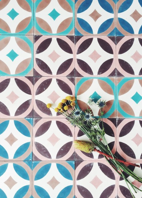 IN LOVE WITH: HANDMADE TILES FROM TINE K   THE STYLE FILES