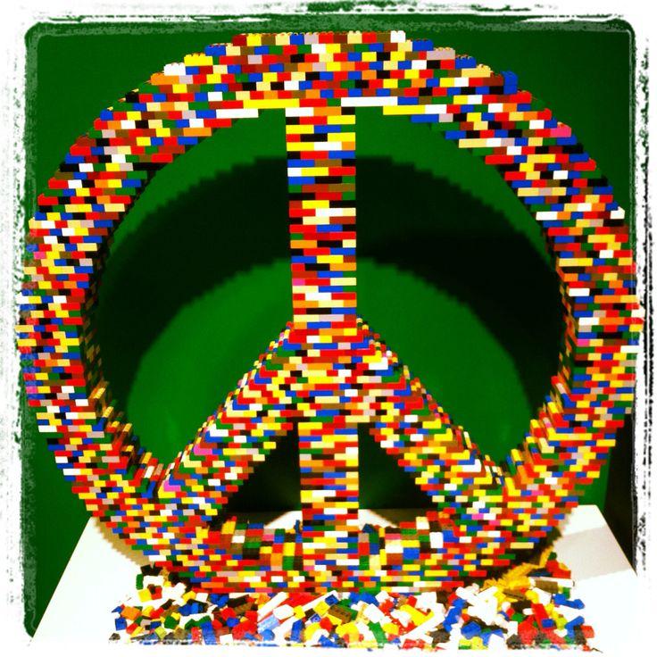 Dreams are built One brick at a time (nathan sawaya)