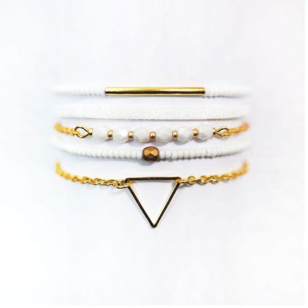 Petit bracelet multirang