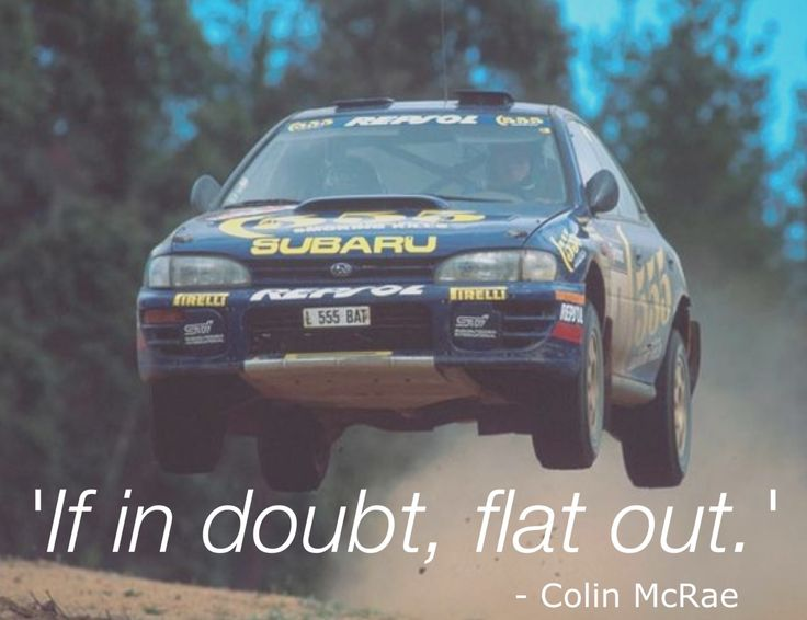Colin McRae the best there ever was!!!